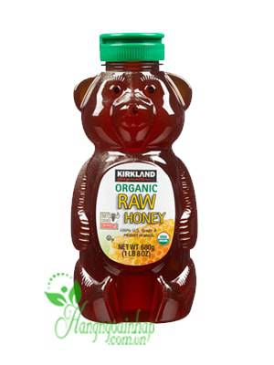 Mật Ong Của Mỹ Chai 680g  Kirkland Organic Honey Bears
