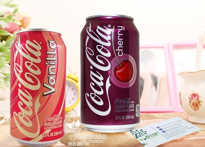 Nước ngọt có Gas Coca Cola 355ml của Mỹ