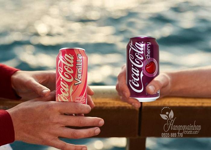 Nước ngọt có Gas Coca Cola 355ml Mỹ