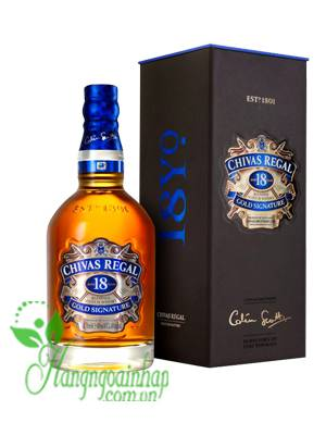 Rượu Chivas 18 Year Old 750ml của Scotland