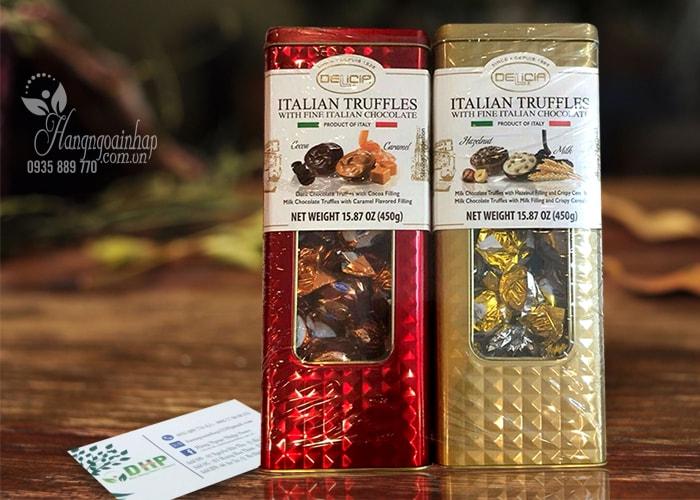 Kẹo socola cao cấp Delicia Italian Truffles 450g
