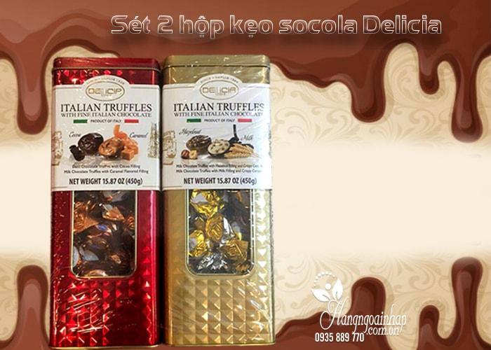 Kẹo socola cao cấp Delicia Italian Truffles