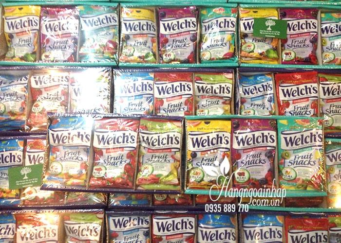 Set kẹo dẻo trái cây Welch's Fruit Snacks 1kg của Mỹ