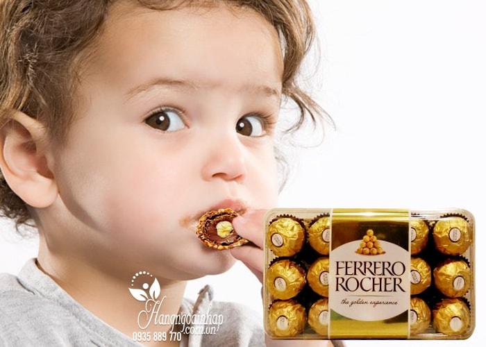 Socola Ferrero Rocher nhân hạt dẻ, hộp 30 viên