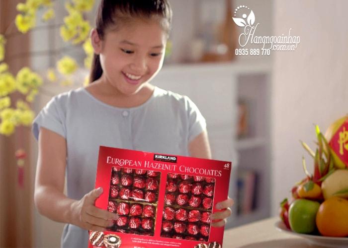 Socola bọc hạt phỉ Kirkland European Hazelnut Chocolates 48 viên