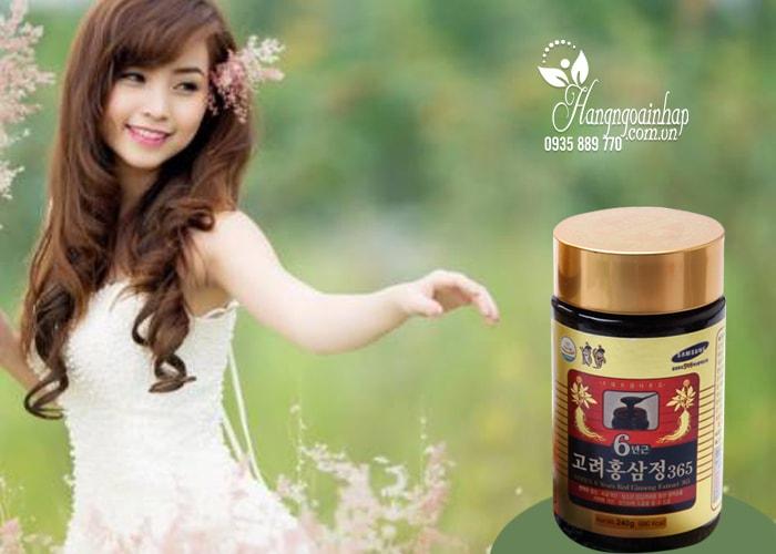 Cao hồng sâm 365 Hàn Quốc 6 năm tuổi