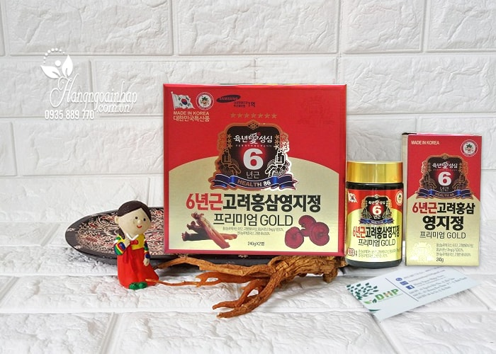 Cao hồng sâm linh chi Taewoong Food Hàn Quốc