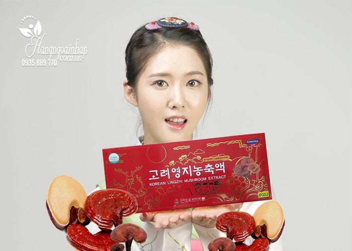 Cao linh chi đỏ Hàn Quốc Korean Lingzhi Mushroom Extract