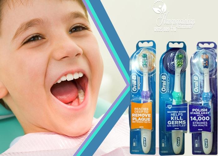 Bàn chải đánh răng cao cấp Oral-B cho bé của Mỹ