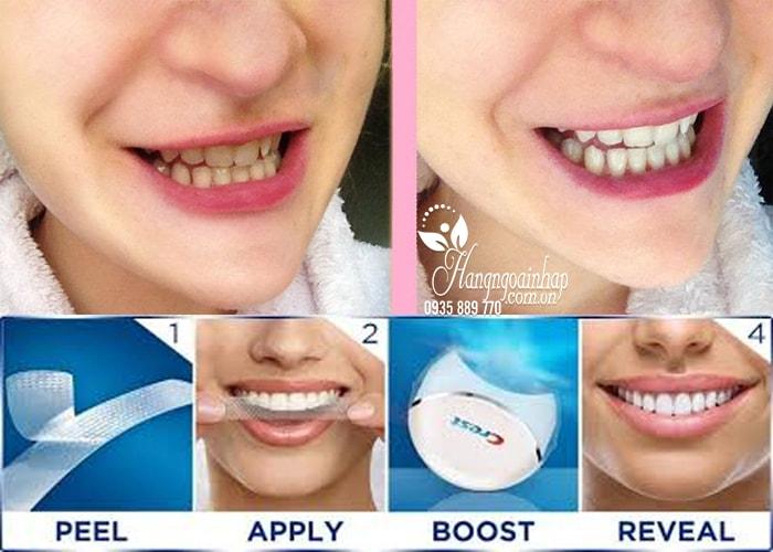 Máy làm trắng răng Crest 3D White No Slip Whitestrips