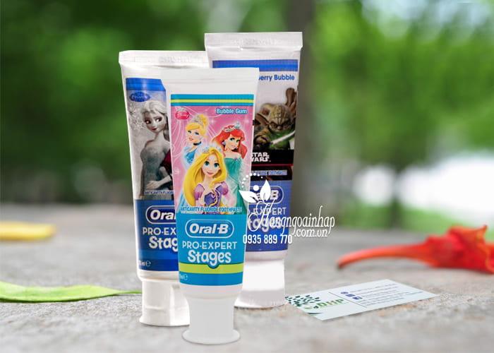Kem đánh răng cho bé Oral-B Pro Expert Stages 75ml của Mỹ 1