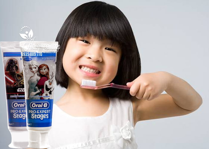 Kem đánh răng cho bé Oral-B Pro Expert Stages 75ml của Mỹ 2