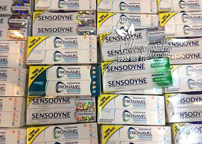Kem đánh răng Sensodyne Extra Whitening dành cho răng ê buốt 184g 10