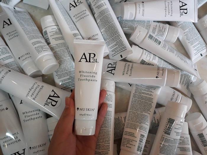 Kem đánh trắng răng Nuskin AP24 - Whitening Fluoride Toothpaste 10