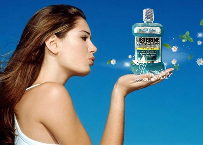 Nước súc miệng Listerine Ultraclean Antiseptic Cool Mint 1,5 lít 5