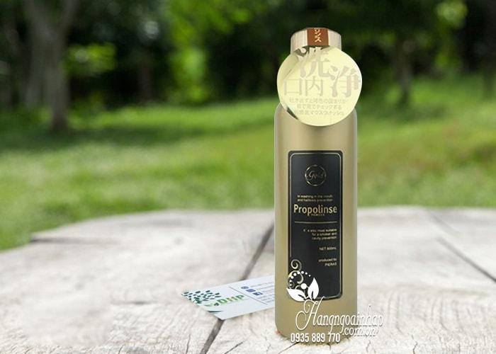 Nước súc miệng Propolinse Gold 600ml giữ ẩm khoang miệng 1