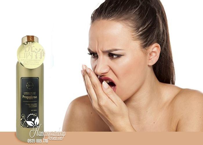 Nước súc miệng Propolinse Gold 600ml giữ ẩm khoang miệng 2