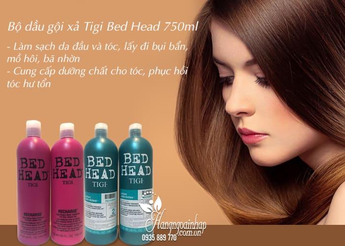 Bộ dầu gội xả Tigi Bed Head 750ml chính hãng giá tốt nhất 3