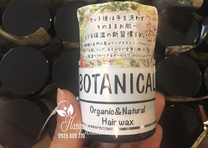 Sáp vuốt tóc Botanical Organic & Natural Hair Wax 47g Nhật 4