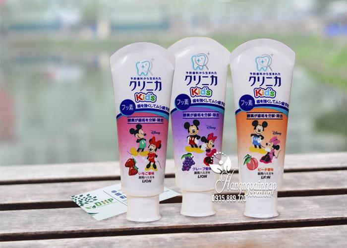 Kem đánh răng Lion 60g Nhật Bản dành cho trẻ em 1