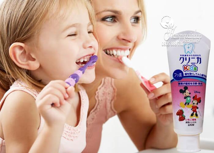 Kem đánh răng Lion 60g Nhật Bản dành cho trẻ em 2