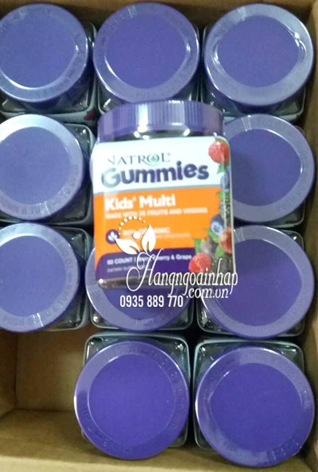 Kẹo dẻo bổ sung vitamin cho trẻ em Natrol Gummies Kids Multi 4