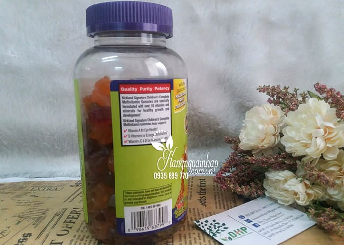 Kẹo Dẻo Kirkland Childrens Complete Multivitamin Gummies