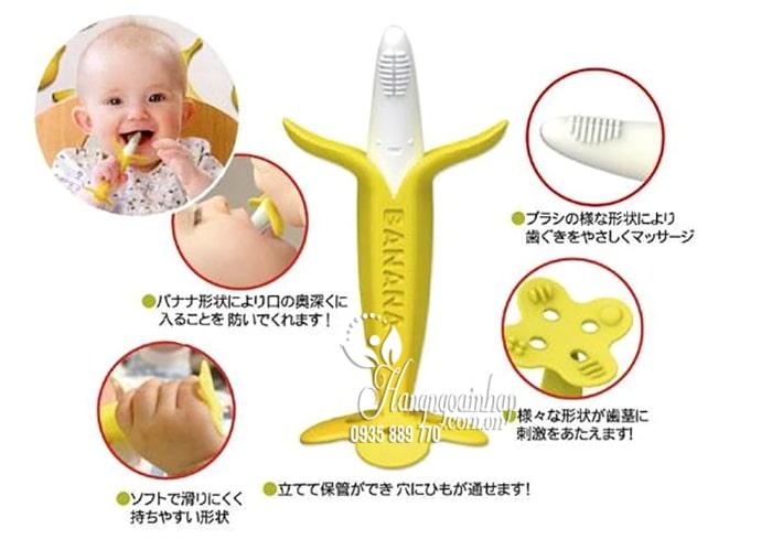 Ngậm nướu Edison hình quả chuối cho bé của Nhật Bản 3