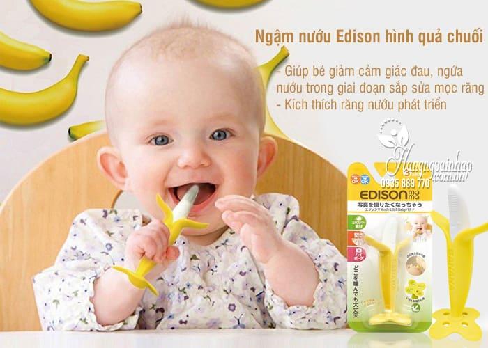 Ngậm nướu Edison hình quả chuối cho bé của Nhật Bản 2