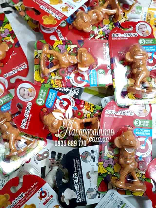 Ngậm nướu hình con khỉ Monkey Teether cho bé của Nhật Bản 1