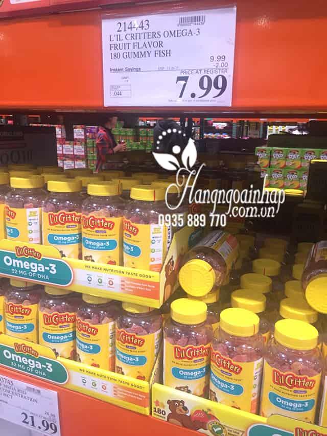 Omega-3 DHA Gummy Fish Kẹo Dẻo Bổ Sung Vitamin Cho Bé 10
