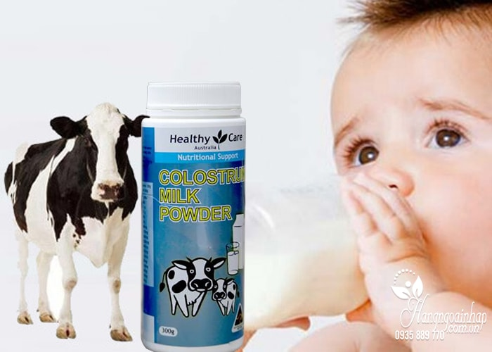 sữa bò non colostrum healthy care 300g Úc