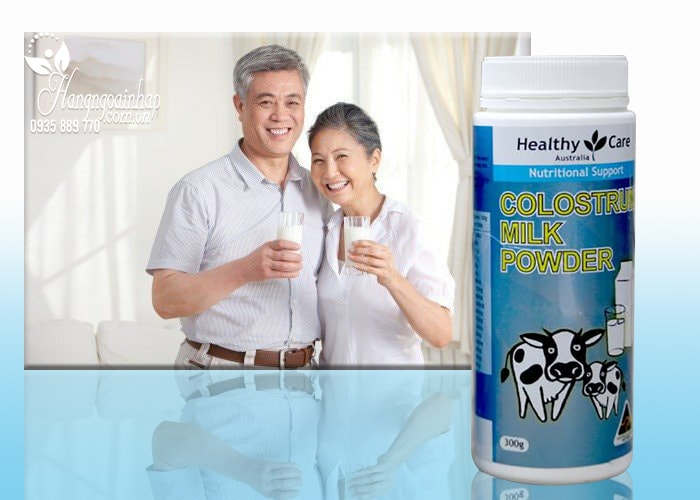 Sữa bò non Colostrum Milk Powder Healthy Care Úc
