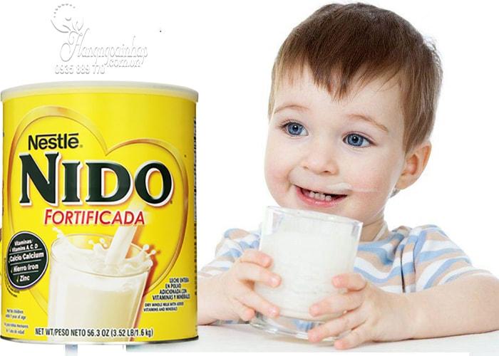 Sữa tươi dạng bột cho bé Nestle Nido Fortificada 1,6kg
