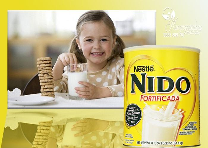 Sữa tươi dạng bột cho bé Nestle Nido Fortificada của Mỹ
