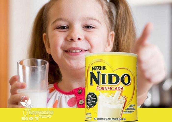 Sữa tươi dạng bột cho bé Nestle Nido Fortificada