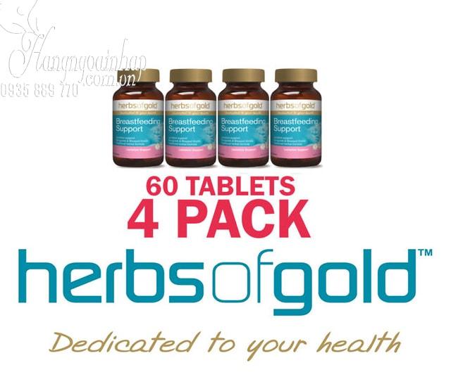 Viên uống lợi sữa Herbs Of Gold Breastfeeding Support của Úc