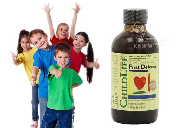 Vitamin Miễn Dịch Cho Bé ChildLife 118.5ml - First Defense