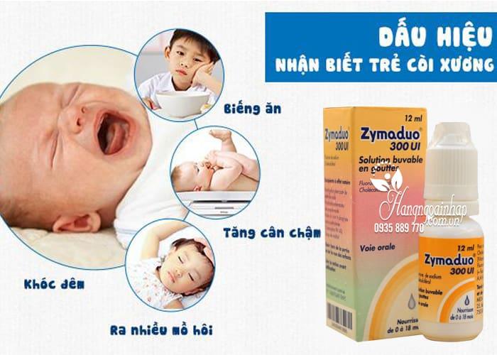 Zymaduo 300UI Vitamin D3 & Fluor 12ml - Chống còi xương 4