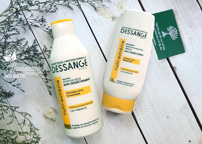 Bộ gội xả Dessange Nutri-Extreme của Pháp, dành cho tóc hư tổn