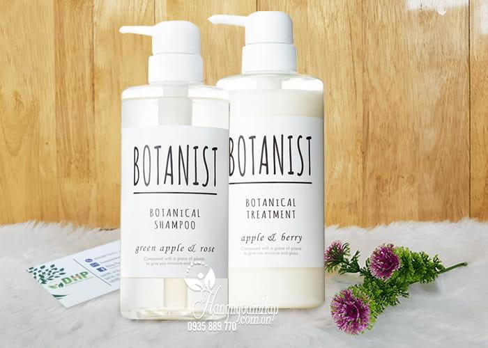 Bộ dầu gội xả thực vật Botanist Botanical 490ml của Nhật 1
