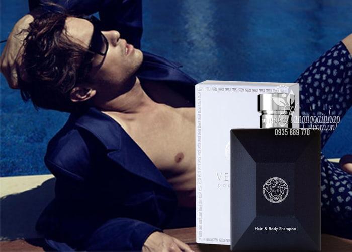 Sữa tắm gội nước hoa cho nam Versace Pour Homme 250ml 2