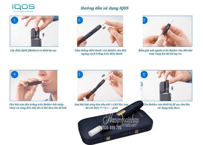 Máy hút thuốc lá điện tử IQOS 2.4 Plus mẫu mới của Nhật Bản 2