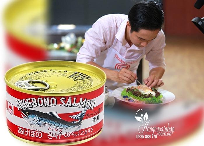 Cá hồi đóng hộp Akebono Salmon Nhật Bản