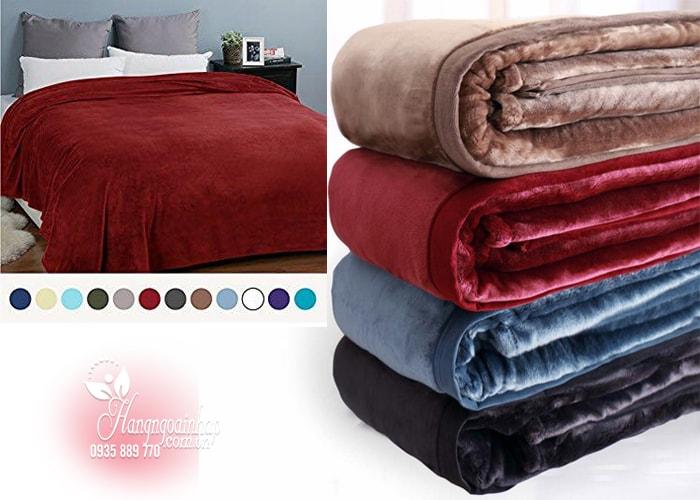 Chăn lông cừu KirkLand Plush Blanket King 284 x 233cm