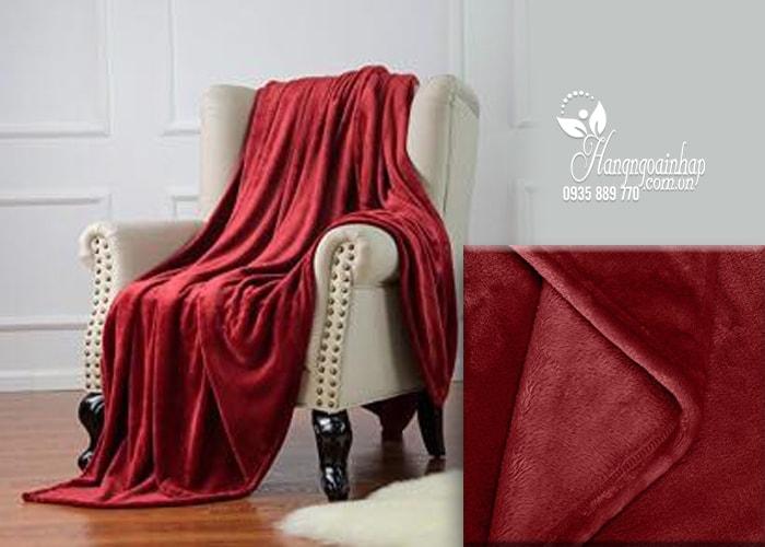 Chăn lông cừu KirkLand Plush Blanket King 284 x 233cm của Mỹ