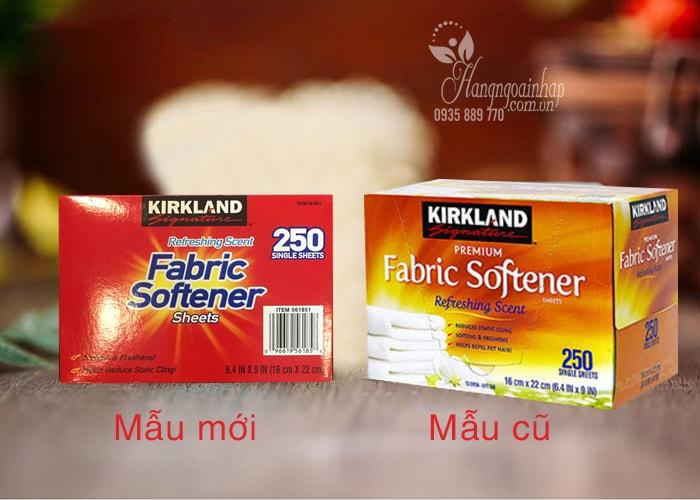 Giấy Thơm Quần Áo Kirkland Fabric Softener Mẫu mới