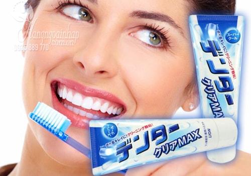 Kem đánh răng Lion Max Super Cool 140g của Nhật Bản