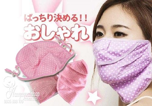 Khẩu trang chống tia UV Oshare của Nhật Bản