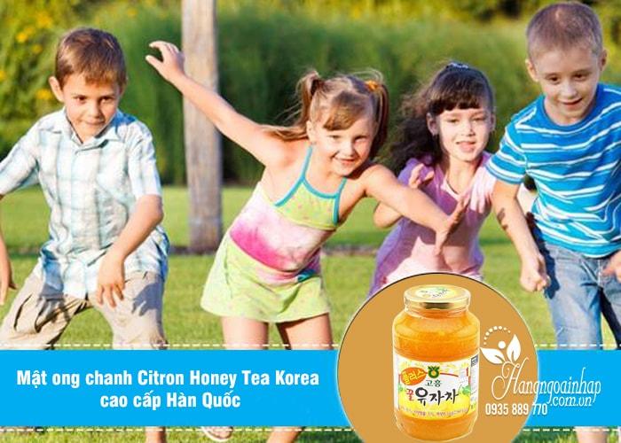 Mật ong chanh Citron Honey Tea Korea cao cấp 1kg Hàn Quốc